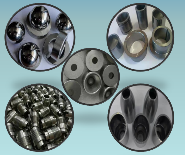 Introduction of wear resistant parts